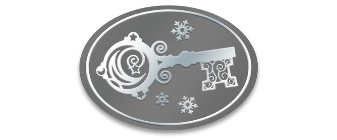 The Silver Key card seal