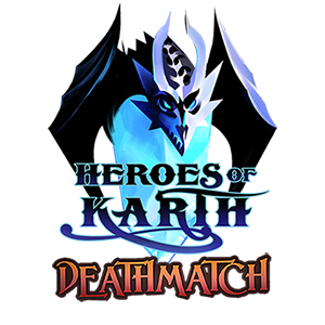 A fantasy deck-building strategy card game for 2-4 players based on the Heroes of Karth™ book series.