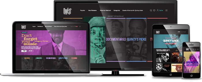 The world's first subscription video-on-demand (SVOD) platform dedicated to jazz and beyond, launching this fall. Join the Qwest!