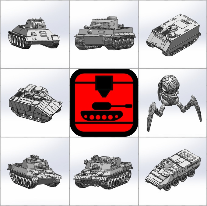 Our current models, Historical and Sci-Fi
