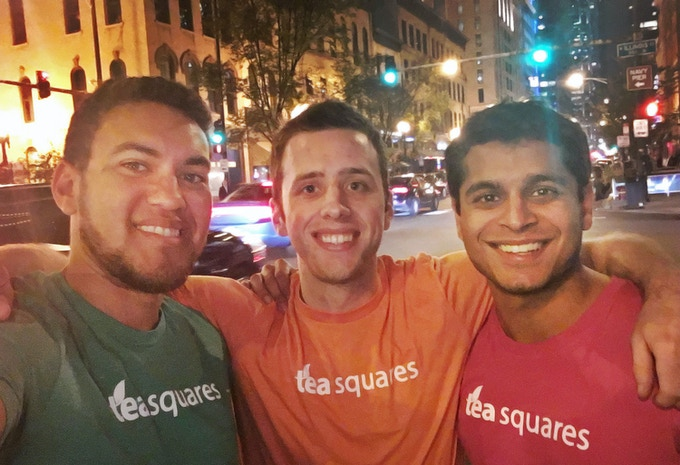 Co-Founders - Jordan, Alex, Adi (left to right)