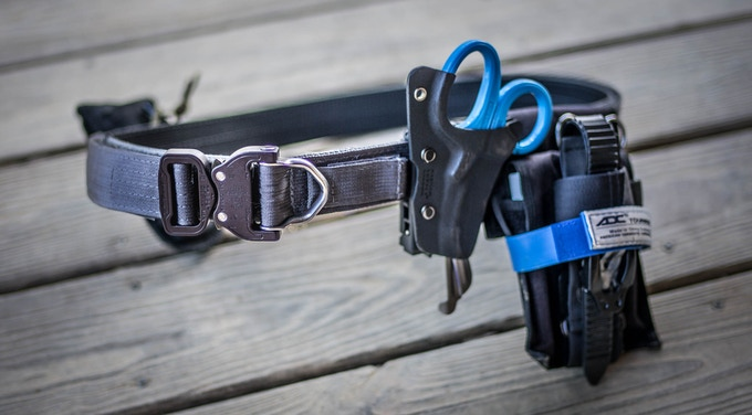 Ridge Iron SAR EMT Riggers Belt  ( *Shears and EMT gear not included)