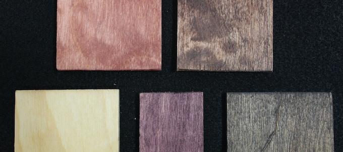 Red, Oak, Natural, Purple, Espresso
