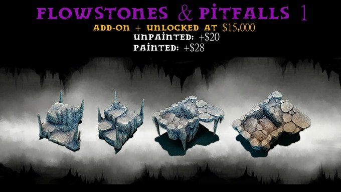 One Flowstone & Pitfall Centerpiece:1