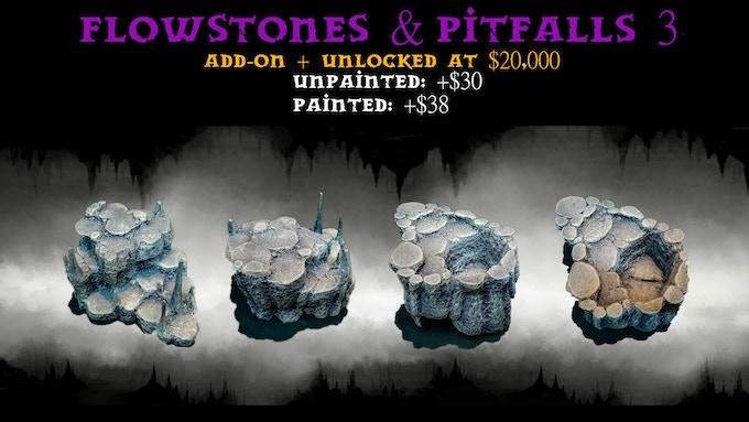 One Flowstone & Pitfall Centerpiece:3