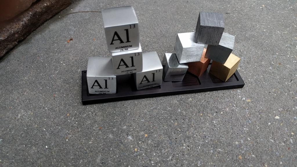 PT Cubes - Metal Elements from the Periodic Table