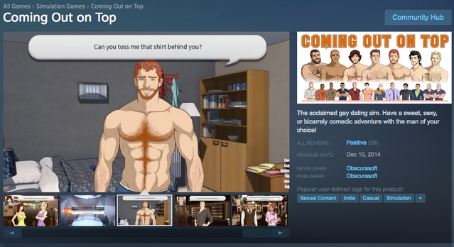 dating sims for guys on steam