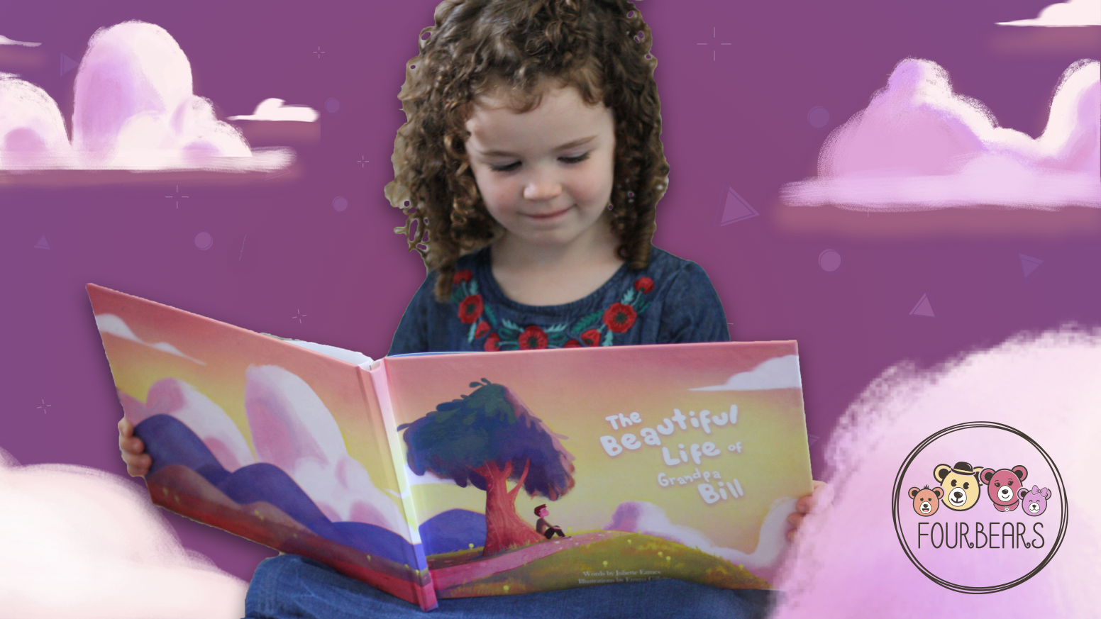 We create customizable children's books about the life and legacy of your loved ones.