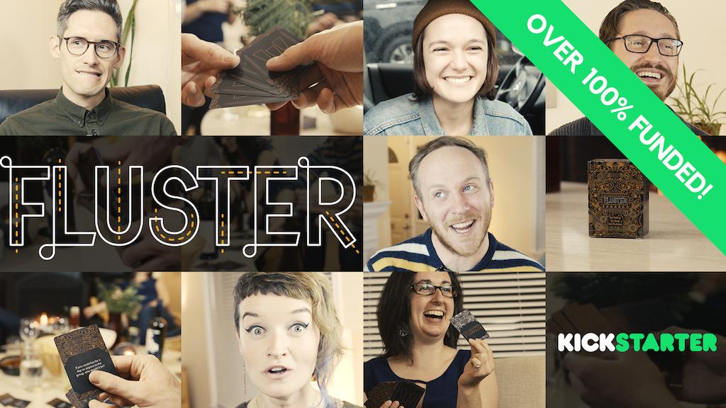 FLUSTER: Get Talking, Get Deep, Get Flustered. project video thumbnail