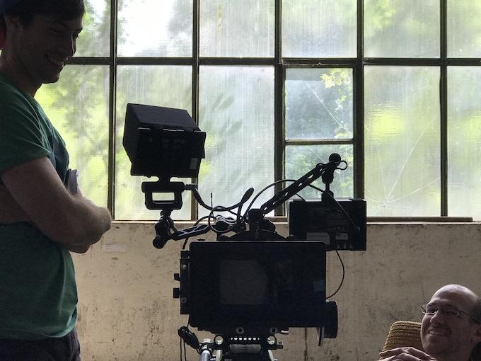 writer/director Max Gold and cinematographer Stephen Tringali