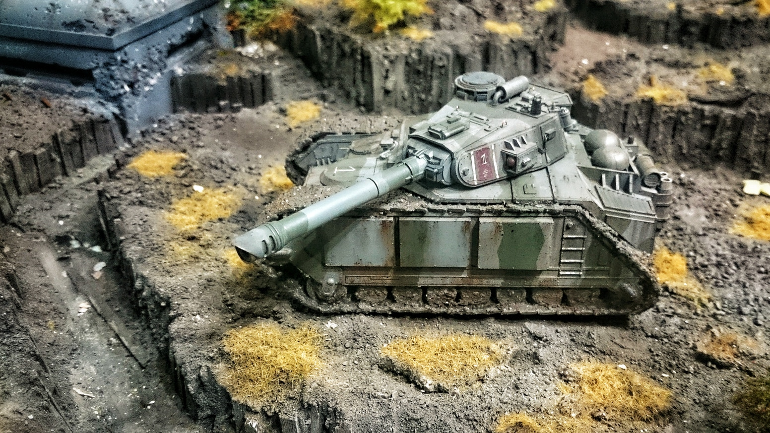 Mortian Battle Tank