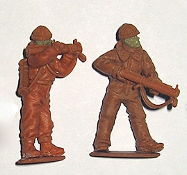 Apologies for the slightly fuzzy image, the sculpts are in the post from Russia!