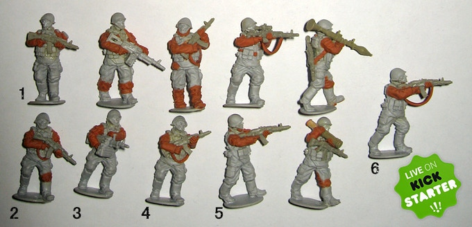 """The 6 Russians in """"Add on"""" Pack 1"""