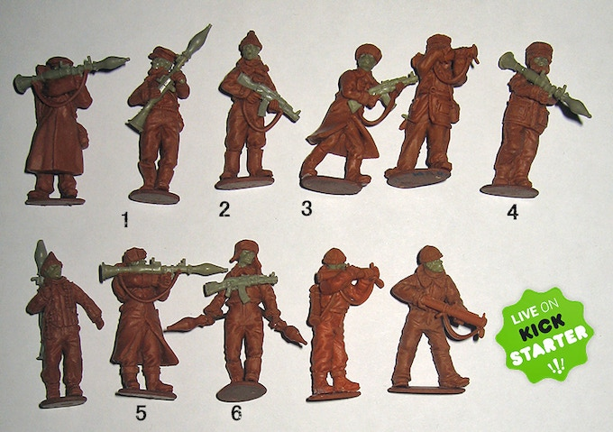 "The 6 Chechens in ""Add on"" pack 2"