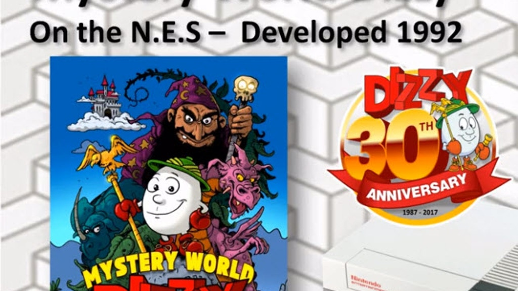 Mystery World Dizzy - A 'new' old game by The Oliver Twins project video thumbnail