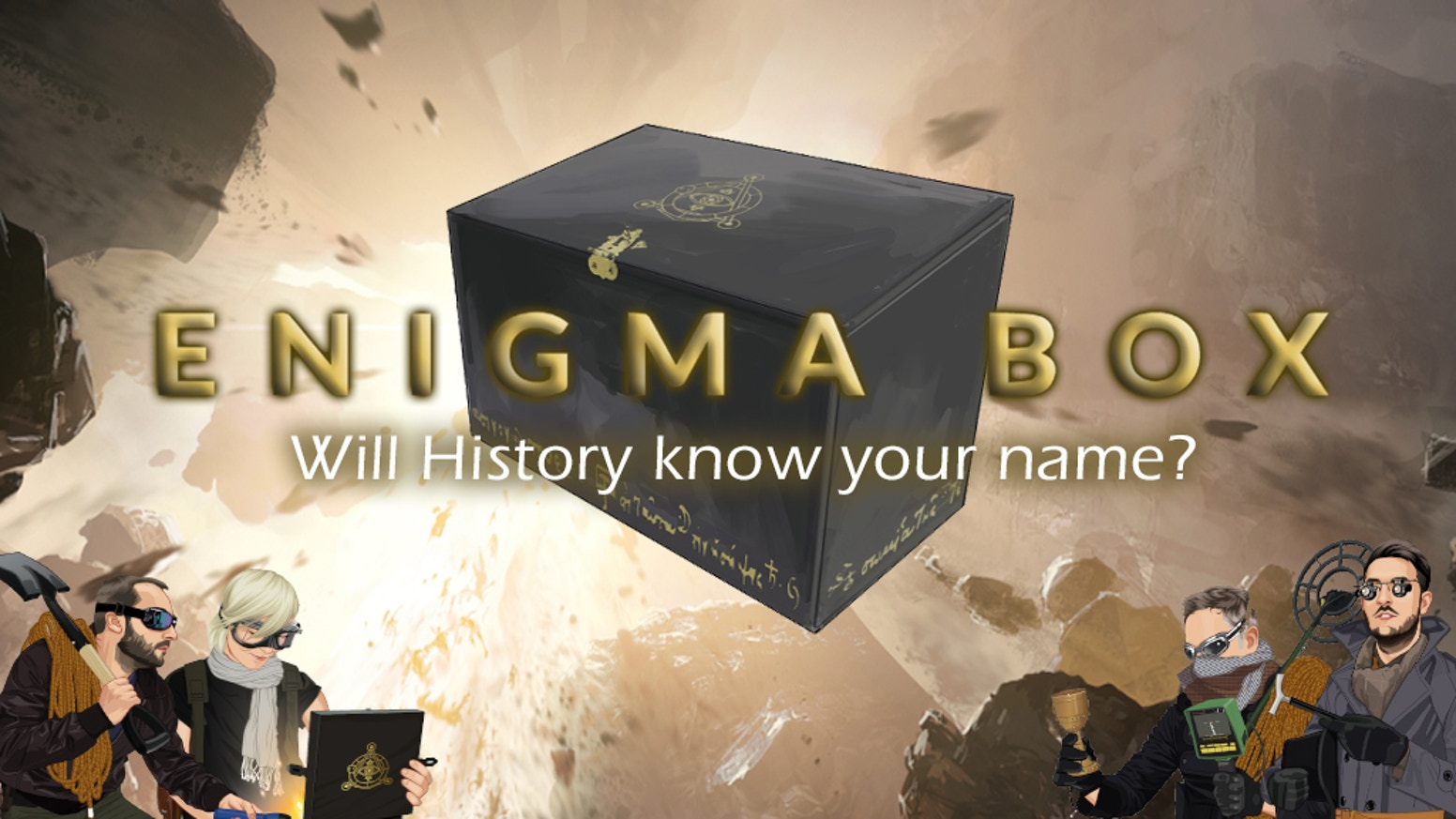 The Enigma Box By Kickstarter Objective Of Circuit Is To Build An Electronic Dice Based On Biggest Adventure All Time From Your Front Room A Challenge