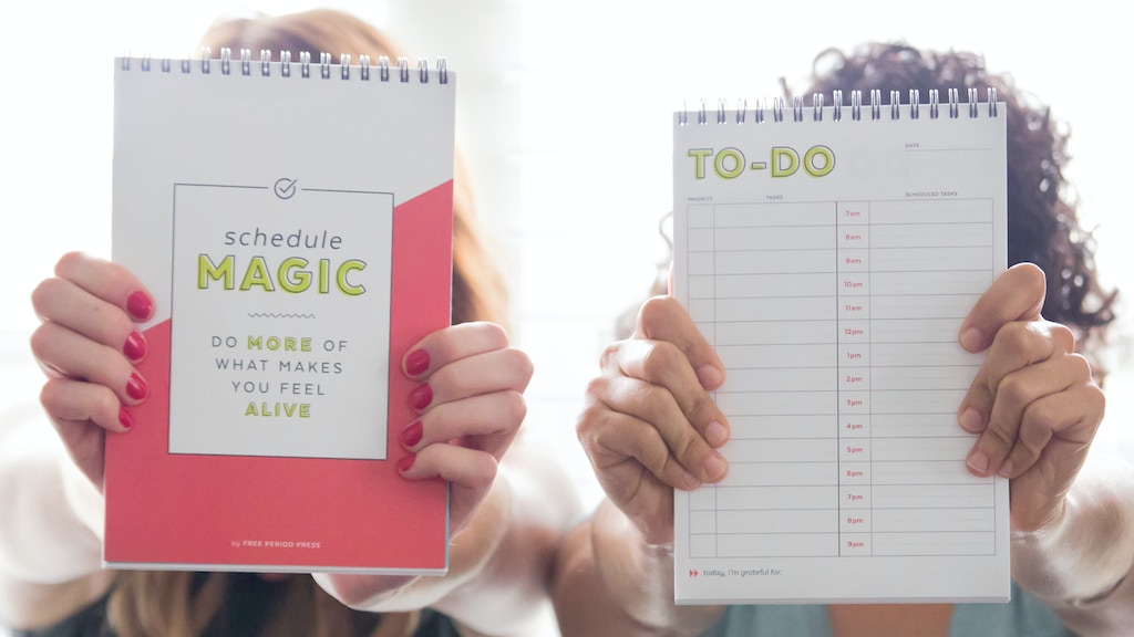 Schedule Magic: A notebook for the to-do list obsessed project video thumbnail