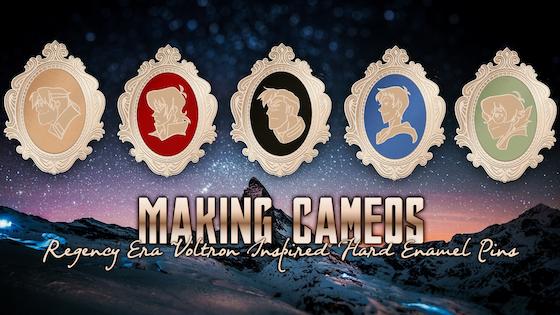 Making Cameos: Paladin Inspired Enamel Pins