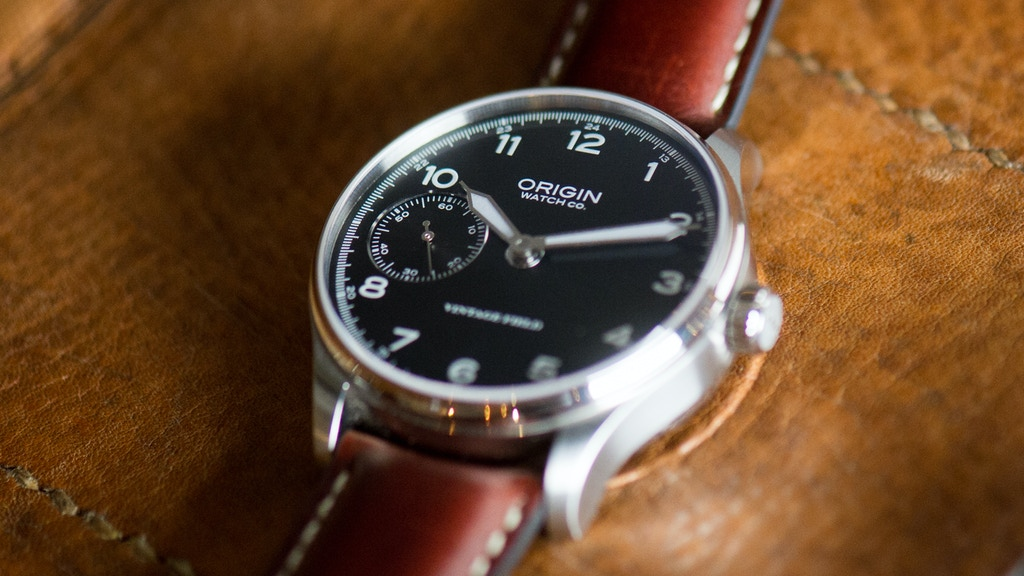 Origin Watch Co. Vintage Field Watch assembled in USA project video thumbnail