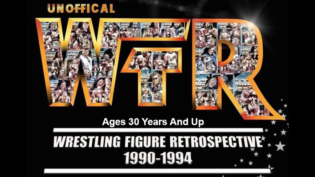 1990 - 1994 Wrestling Action Figure Retrospective Book project video thumbnail