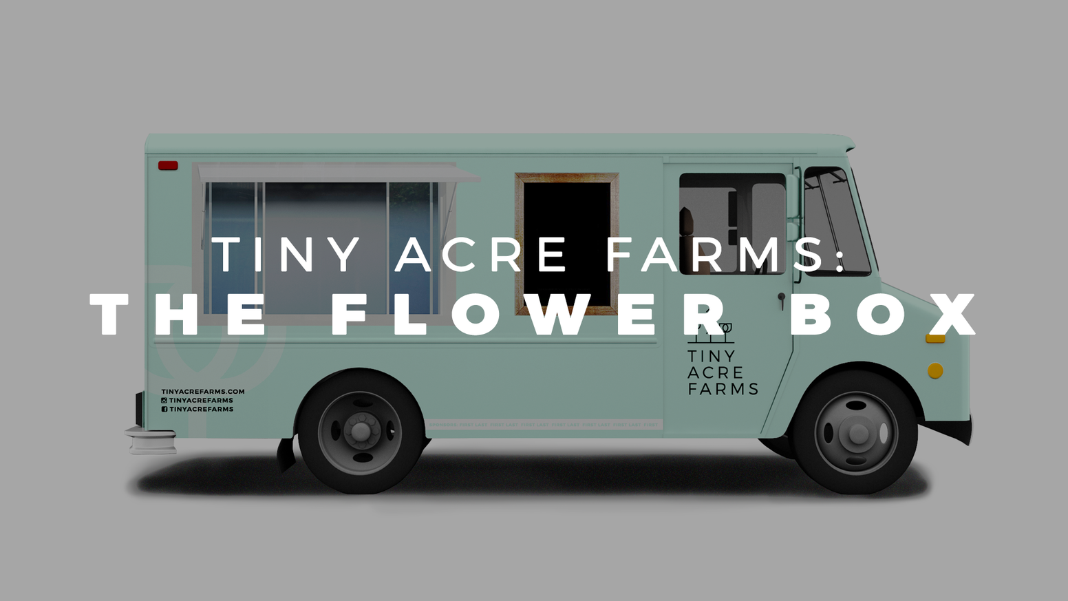 The Flower Box will bring the locally grown movement to the streets of Des Moines with the city's first mobile flower truck.