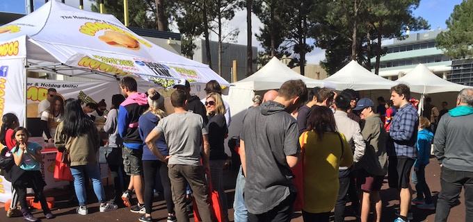 The Hamdog™ draws massive crowds at every event.