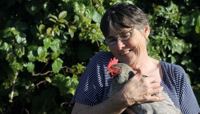 Susanne Payne and Lavender