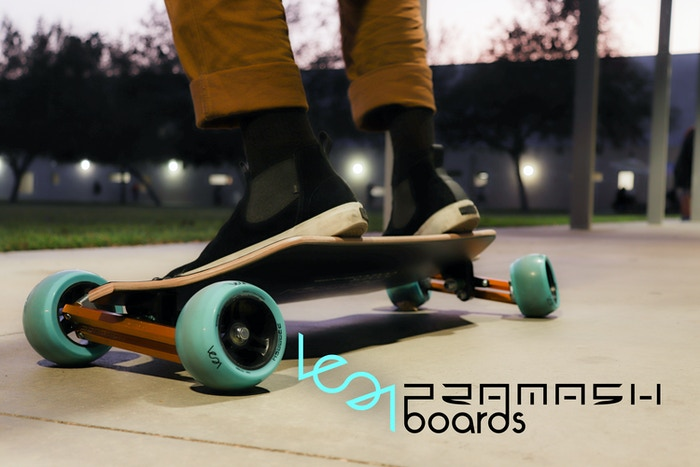 184d7c3449e6 Lean Longboard / Skateboard by Pramash Boards Inc. — Kickstarter