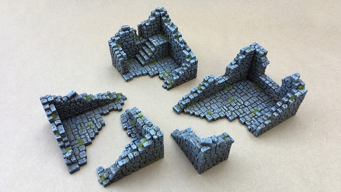 "Set 1 - ""Shacks & Guard Tower"""