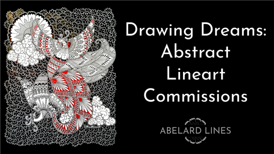 Drawing Dreams - Abstract Lineart Commissions