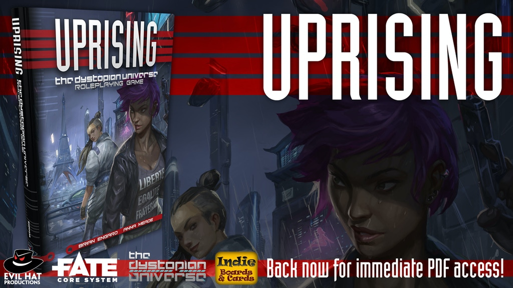 Uprising: The Dystopian Universe RPG project video thumbnail