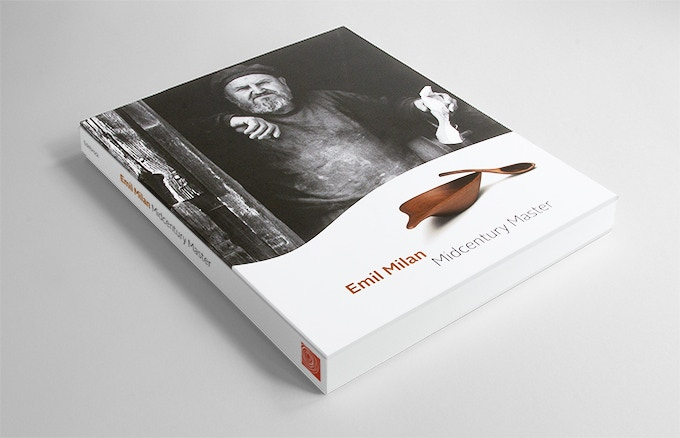 Standard edition book with printed fabric spine.