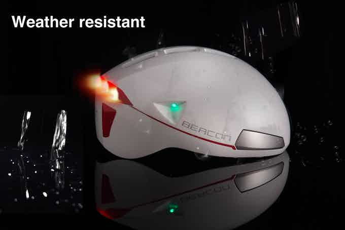 Enjoy Beacon Helmet ® in all weather.