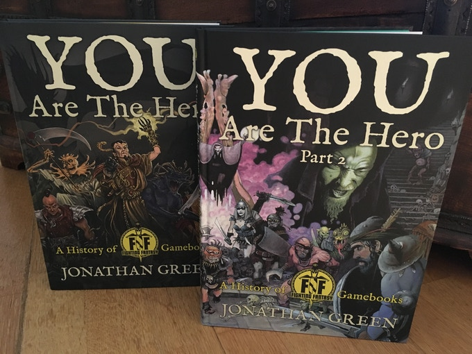 YOU ARE THE HERO - A History of Fighting Fantasy Gamebooks - Parts 1 & 2