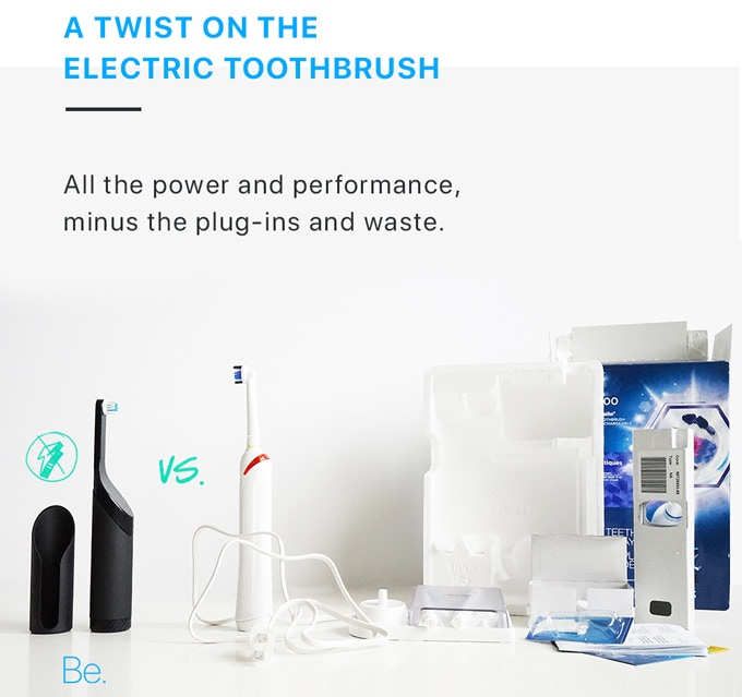 Be  | The First Battery-Free, Powered Toothbrush by Goodwell