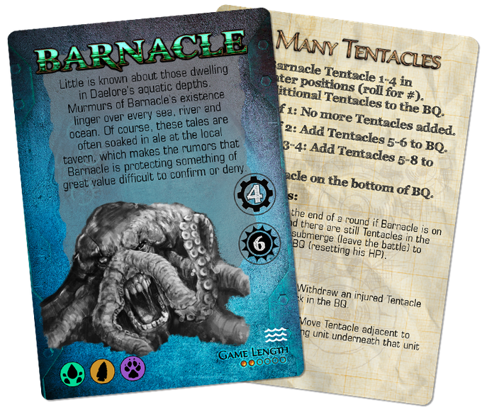 Most Tyrants in Undertow are backward compatible with the original TMB...and then there is Barnacle.
