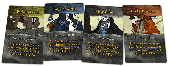 Promotional personal Totem cards - Click to enlarge