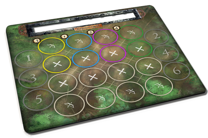 Engage in forest battles on the flip side!