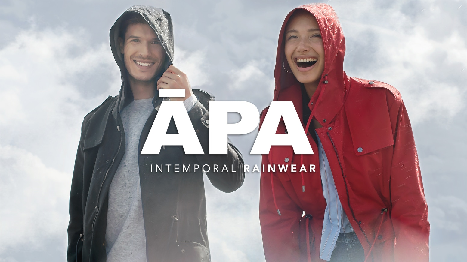 ĀPA is the Ultimate Coat for the Changing Urban Weather. Nano-Waterproof, Thermo-Adaptive, Breathable, Stylish, 100% Made in Europe