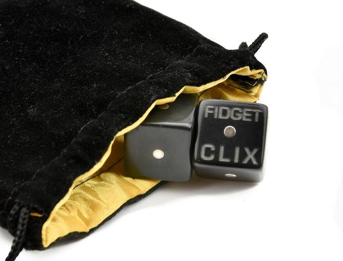 What you get with the FIDGET CLIX - Original.