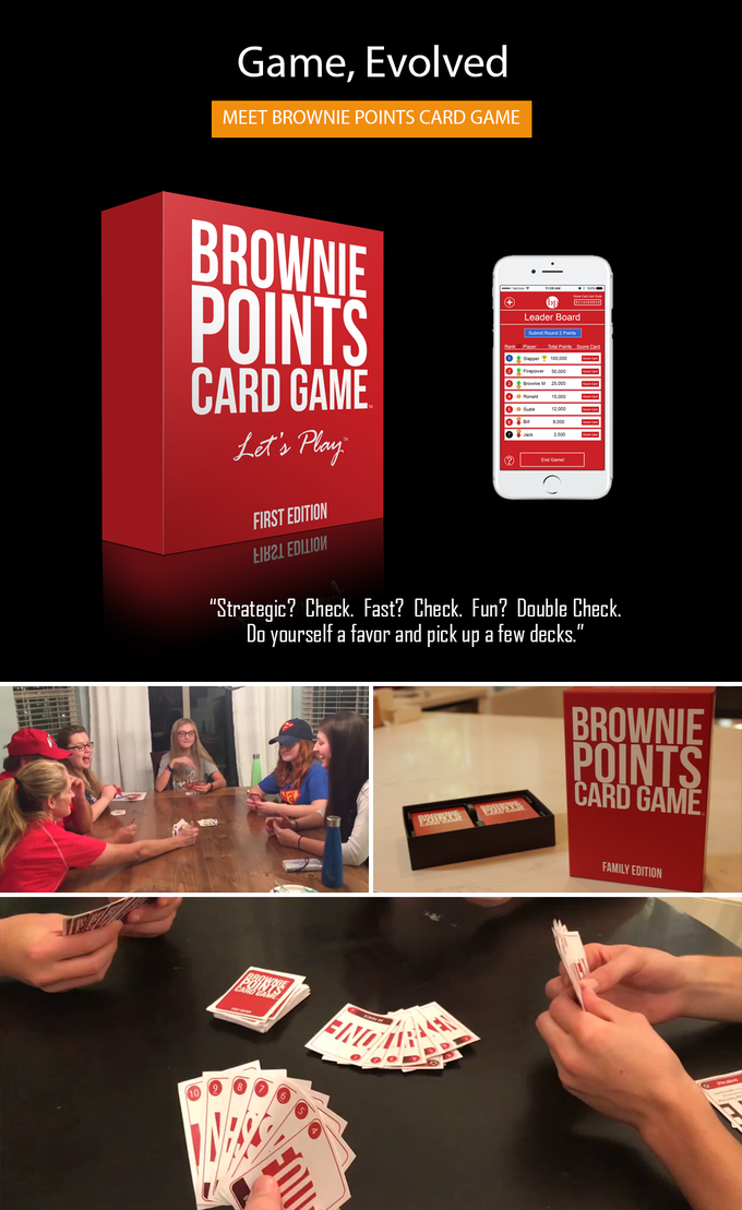 Brownie points card game the ultimate game of slap attacks by card games are one of our oldest past times the strategy the emotion the fight to win it hits on something inside all of us we love to be around it solutioingenieria Gallery