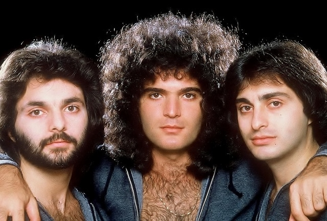 Ross, Gino and Joe Vannelli back in the day - The 1970's