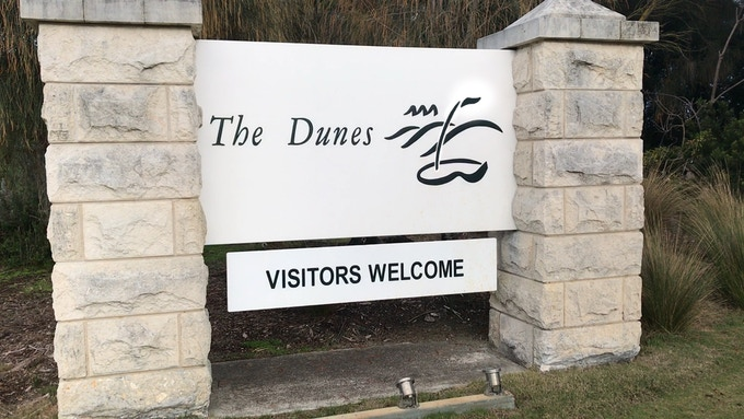 You are now entering - The Dunes