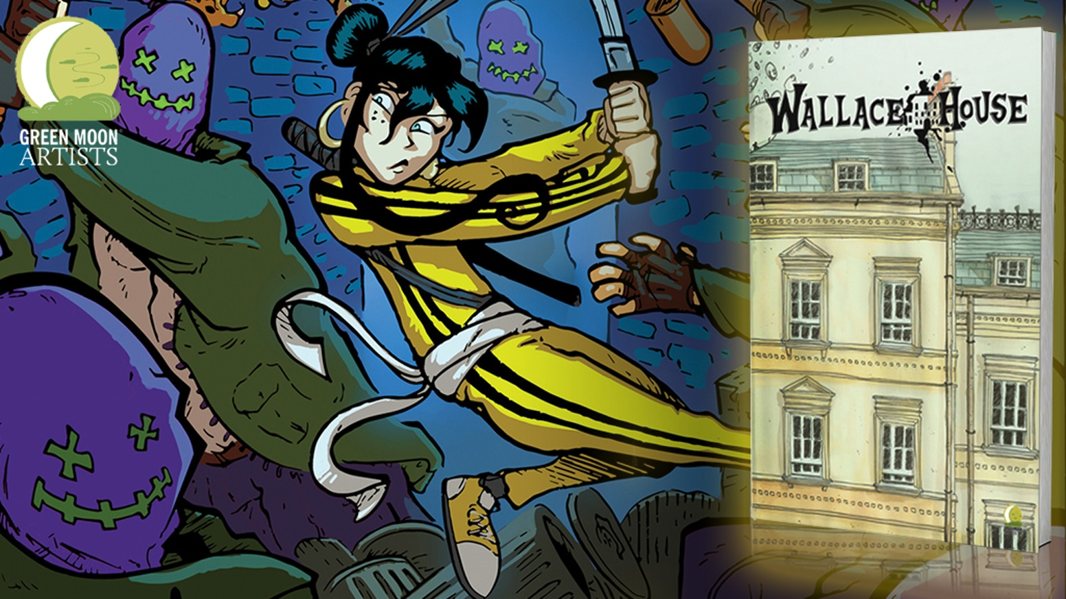Wallace House is a fantasy comic that roots in the superhero and nerd culture of our times.