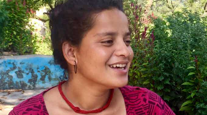 Babita of Chikalgaon Village, Uttarakhand