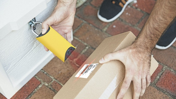 BoxLock Home - Smart Padlock for Protecting Deliveries
