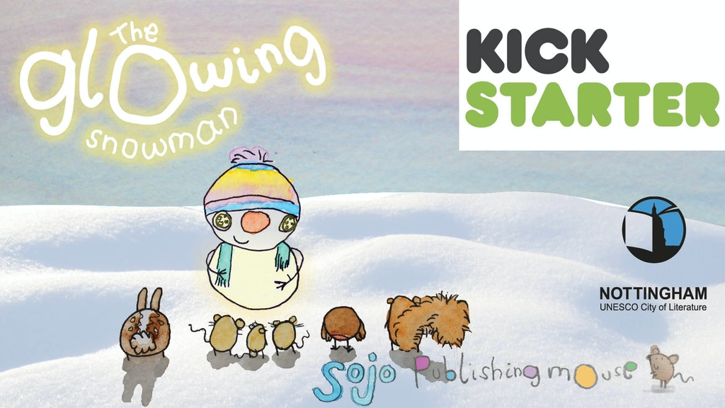 The Glowing Snowman project video thumbnail