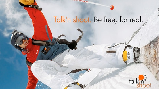 Talk'n Shoot. Be free, for real.
