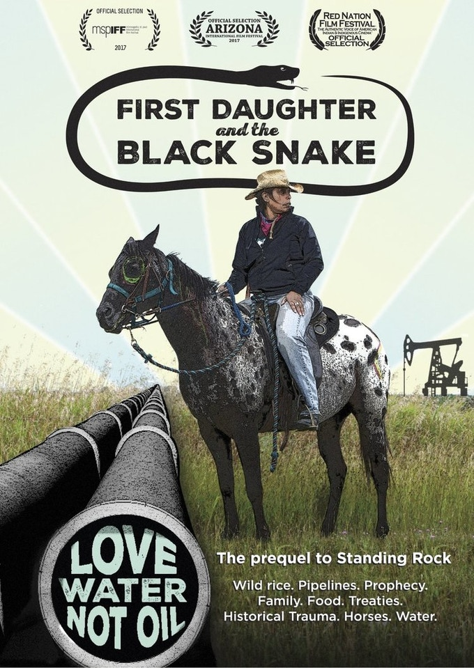 "Pledge $75 - ""First Daughter and the Black Snake"" DVD"