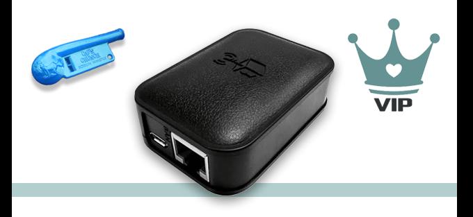 Black Anonabox Pro - $85  |  VIP Membership - $10  |  Exclusive replica of the infamous whistle - $8